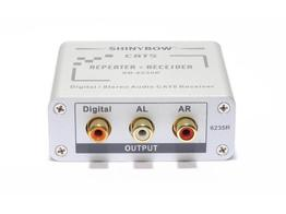 Shinybow SB-6235R Cat5 - Composite Video/Digital and Stereo Audio Extender (Receiver)
