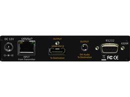Shinybow SB-6320R HDMI/IR/RS323/Ethernet/Audio HDBaseT Extender (Receiver) 330ft