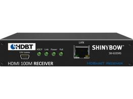 Shinybow SB-6335R5 5 Play HDBaseT PoH Extender (Receiver) 330 ft with 2-way IR/RS-232