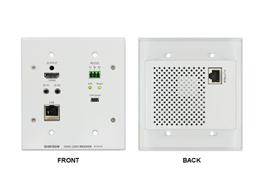 Shinybow SB-6351R HDMI HDBaseT Wall Plate Extender (Receiver) with PoH up to 330ft
