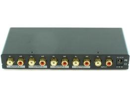 Shinybow SB-3705 1x4 Stereo Audio Distribution Amplifier Splitter