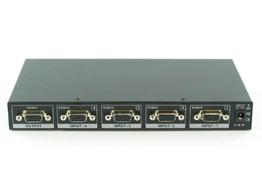 Shinybow SB-4106 4x1 VGA Selector Switch w/IR control