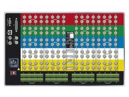 Sierra Video 1608V5VSR-XL 16x8 RGBHV Video Matrix Switcher w Bal Audio/PS/6RU