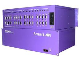 Smartavi AV08X08AS 8X8 VGA Stereo Audio Switcher up to 100 ft with TCP/IP /Telnet control