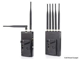 SWIT S-4904T/R SDI/HDMI 2200ft Wireless (Transmitter/Receiver) System/Gold Mount or V-Mount