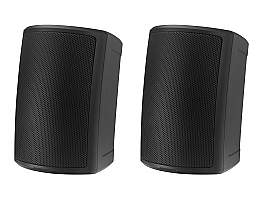 Tannoy AMS 5ICT LS 5 inch ICT Surface-Mount Loudspeaker for Life Safety Installation Applications/Black/Pair