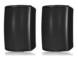 Tannoy AMS 6ICT LS 6 inch ICT Surface-Mount Loudspeaker for Life Safety Installation Applications/Black/Pair