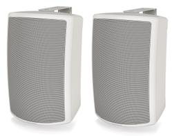 Tannoy AMS 6ICT-WH LZ 6 inch ICT Surface-Mount Low Impedance Loudspeaker for Installation Applications/White/Pair