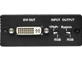 TV One 1T-FC-524 Analog RGBHV or Component YPbPr Video to DVI Converter