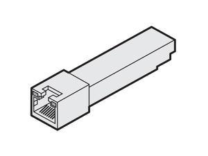 Adder SFP-CATX-RJ45 1000BASE-T Copper SFP Transceiver for use with AdderLink INFINITY