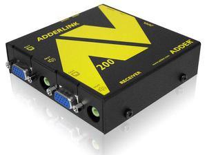 Adder ALAV200P Adder ALAV200P VGA Audio Video Extender Pair, Reciever
