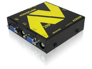 Adder ALAV200R Adder ALAV200R Extender Receiver for Audio/Video RS232 Extension over CAT5 up to 1000ft