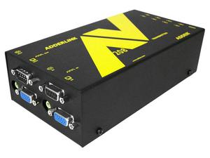 Adder ALAV208T 1x8 VGA Extender Transmitter with Serial over CAT5 up to 1000ft