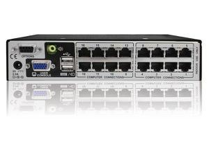 Adder AVX1016IP-US1 Adder AVX1016IP-US 1x16 KVM switch CATx IP