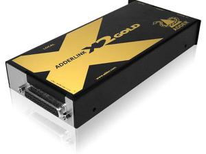 Adder X2-GOLD/P Cat 6 KVM Extender with Audio/RS232 and DeSkew