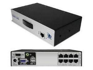 Adder AVX1008-US 8-Port CATx KVM Switch