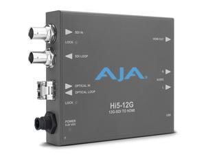 AJA Hi5-12G-R 12G-SDI to HDMI 2.0 Converters with Fiber Receiver