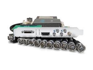 AJA KONA-5-R0-S01 12G-SDI I/O 10-bit PCIe Card HDMI 2.0 output with HFR support (PCIe power)
