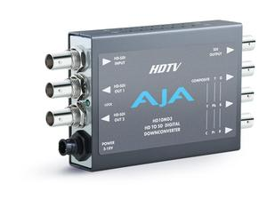 AJA HD10MD3-b Mini Digital Dual Rate HD-SDI to SDI Analog Downconverter