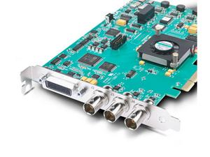 AJA KONA-LHE R0-S02 HD-SDI/Analog Video Capture and Playback PCI Card with breakout cable