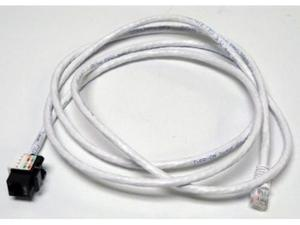 Altinex CM11352 6ft CAT6/RJ-45 F/M SNAP IN ASSEMBLY Cable (Black)