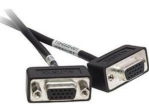 Altinex CM11402 6Ft 15-Pin Hd F/F Panel Mount Vga Assembly Cable