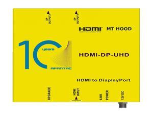 Apantac HDM-DP-UHD HDMI 2.0 to DP 1.2 Converter
