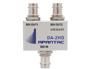 Apantac DA-2HD Passive 1x2 Triple-rate SDI/ASI/Composite Distribution Amplifier