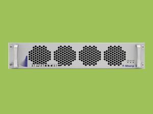Apantac T-24x4-2RU-S 2 RU 24x4 3G/HD/SD-SDI/CVBS I/O Multiviewer w UOM-SFP-A