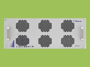 Apantac T-24x4-4RU-S 4 RU 24x4 3G/HD/SD-SDI/CVBS I/O Multiviewer w UOM-SFP-A