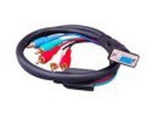 Apantac HDTV-C-SR Component Video to VGA Breakout Cable