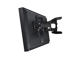 Apollo AE7570-AWM 75 inch Outdoor TV Enclosure with Dual-Arm Articulating Wall Mount
