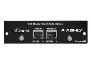 Ashly Dante-3018 Multi-Channel Network Audio Interface