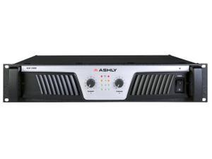 Ashly KLR-2000 Power Amplifier 2 x (1000W 2)(600W 4)(350W 8) Ohms