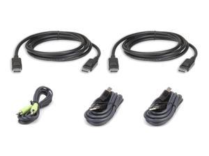 Aten 2L-7D03UDPX5 3m USB DisplayPort Dual Display Secure KVM Cable Kit