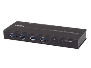 Aten US3344I 4x4 USB 3.1 Gen 1 Industrial Hub Switch
