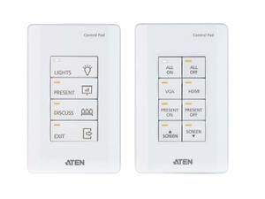 Aten VK0100 8-Button Control Pad (US/1 Gang)