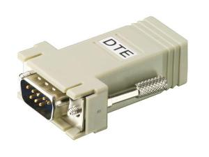 Aten SA0145 RJ-45 (Female) to DB9 (Male) DTE to DTE Interface Adapter