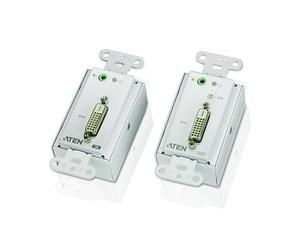 Aten VE606 DVI Over Cat5 Wall plate Extender (Transmitter/Receiver) Kit