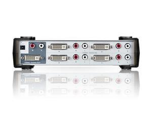 Aten VS461 4 Port DVI and Audio Switch