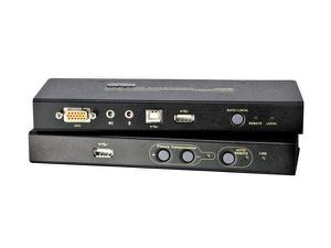 Aten CE800B USB VGA/Audio Cat 5 KVM Extender with USB Flash Storage
