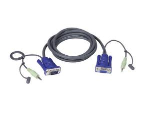 Aten 2L2402A VGA / Audio Cable (6 ft)