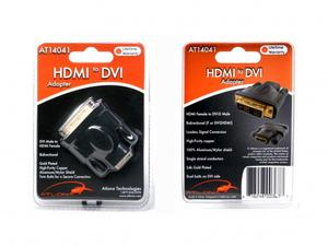 Atlona AT14041 HDMI FEMALE TO DVI MALE ADAPTER
