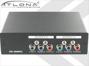 Atlona AT-COMP13 1X3 ATLONA COMPONENT VIDEO DISTRIBUTION AMPLIFIER
