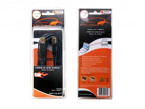Atlona AT11008-5 16.5ft High-Performance USB 2.0 A to B (Male/Male) Cable