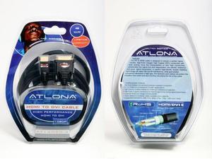 Atlona AT14020-4 4M ( 13FT ) ATLONA DVI TO HDMI or HDMI TO DVI DIGITAL CABLE
