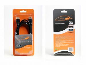 Atlona AT14036-2 6 F00T HIGH SPEED HDMI CABLE WITH ETHERNET