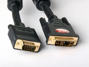 Atlona AT18012-7 7M (23FT) VGA TO DVI OR DVI-A TO VGA ADAPTER CABLE