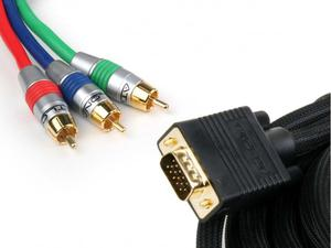 Atlona AT19072-2 2M (6FT) VGA TO COMPONENT / COMPONENT TO VGA BREAKOUT VIDEO CABLE