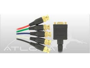Atlona AT19082-AD 8-INCH VGA FEMALE TO 5 BNC MALE ADAPTER